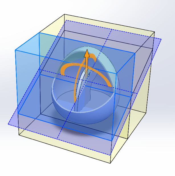 solidworks section view