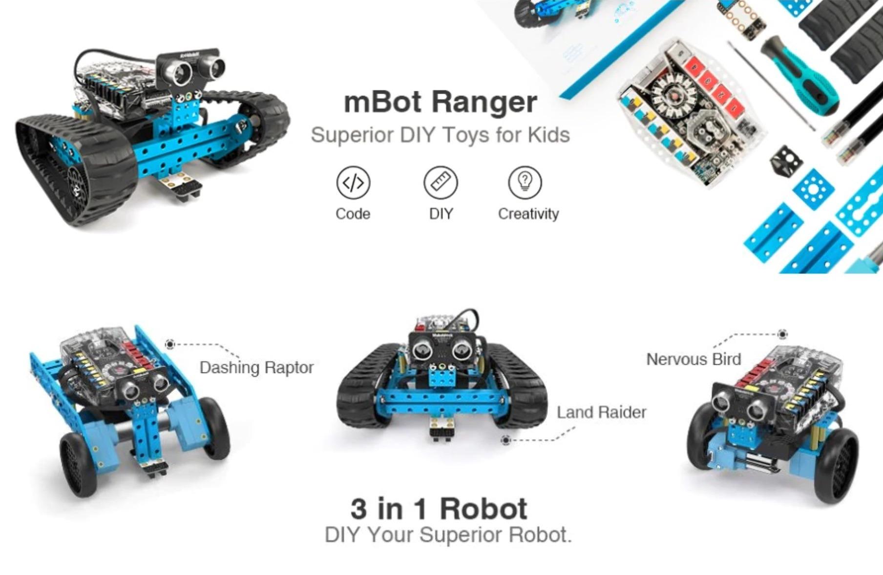makeblock m bot ranger robot kit review